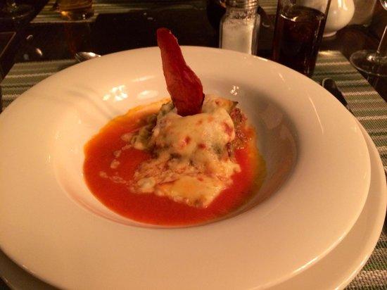 H10 Rubicon Palace : Italian a la carte lasagne