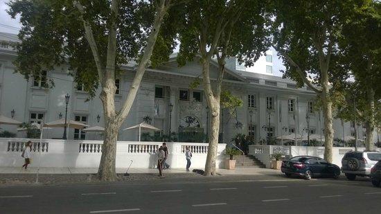 Park Hyatt Mendoza: fachada no hotel