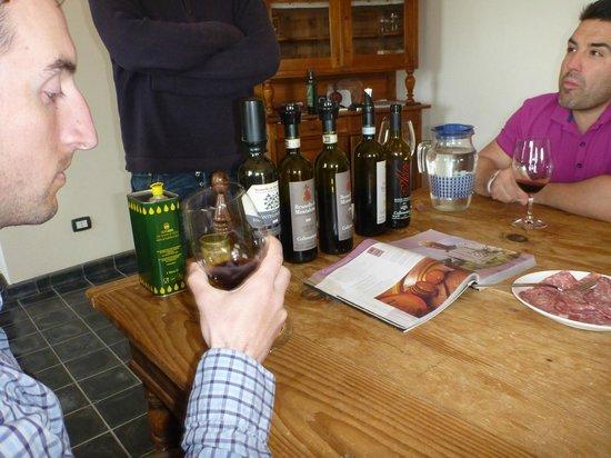 Franco Wine Tour Experience: Montalcino wine tasting