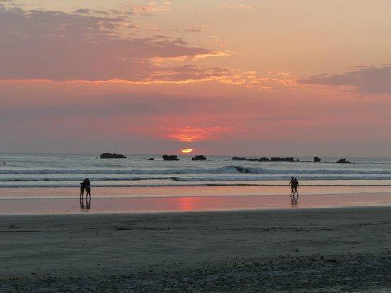 Hotel Casa Romantica: sunset