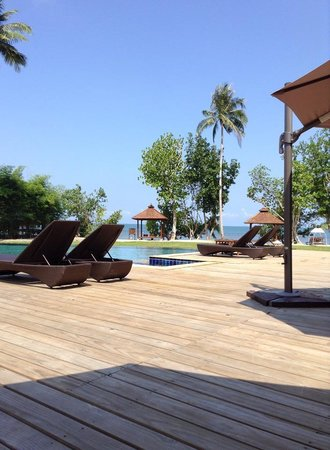 Gajapuri Resort & Spa: New pool area