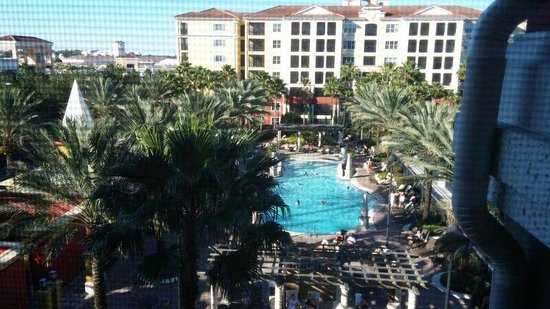 Hilton Grand Vacations at Tuscany Village: View from the balcony