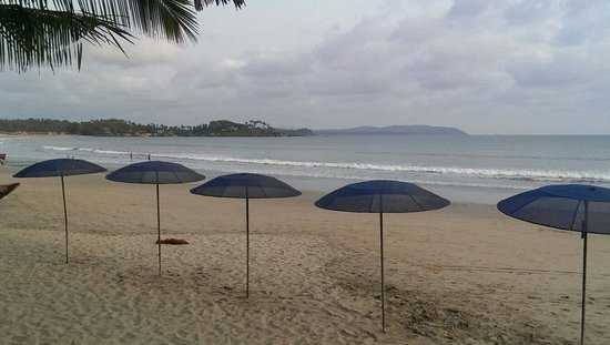 Cafe Blue Hotel : Beach