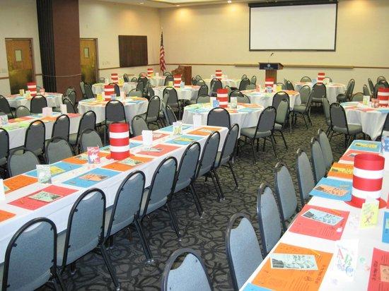 Ramada Cedar City : Utah Shakespear Festival Volunteer dinner at the Hotel