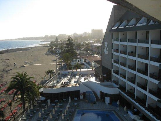 Playa de San Agustin : Vy över stranden