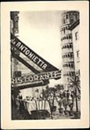 Antica Trattoria Antonietta: All'inizio era così...