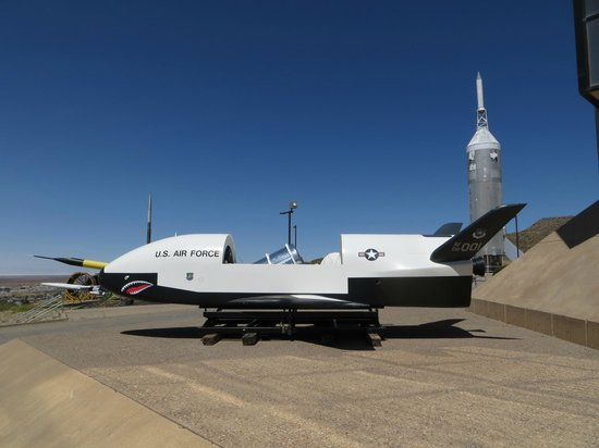 New Mexico Museum of Space History: Exterior exhibits