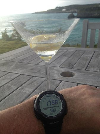 The Cove Eleuthera: Sunset Martini