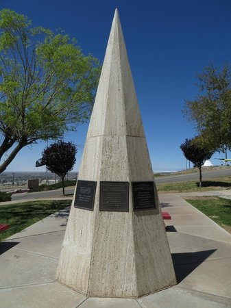 New Mexico Museum of Space History : Lost Astronauts Memorial Obelisk