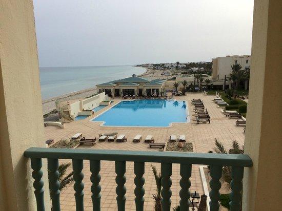 Radisson Blu Ulysse Resort & Thalasso Djerba: Vue de la chambre