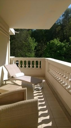 Pavillon de la Rotonde: terrasse