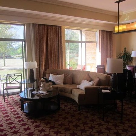 JW Marriott San Antonio Hill Country Resort & Spa: Our room we upgraded to a suite very worth it
