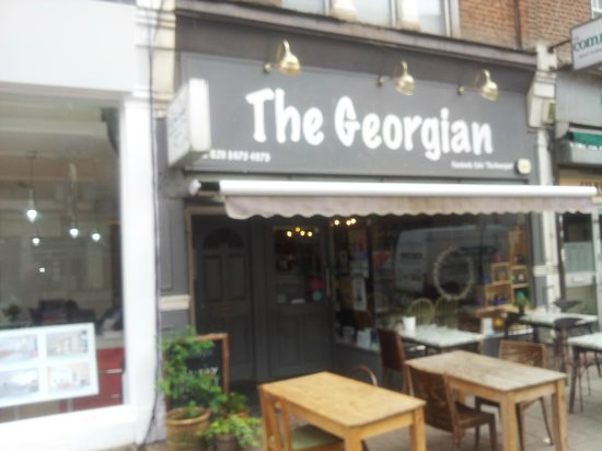 The Georgian: Store Front