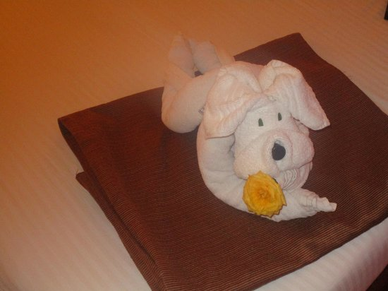 Club Mahindra Madikeri, Coorg: Excellent towel decoration