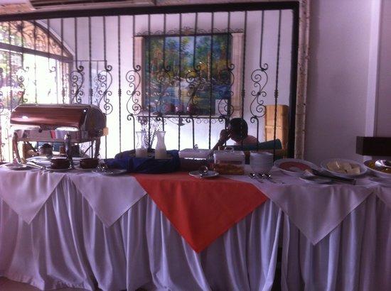 Hotel Barlovento : Breakfast buffet