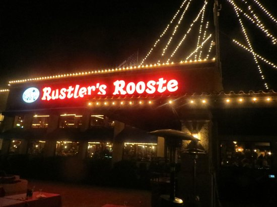 Rustler's Rooste: View from balcony