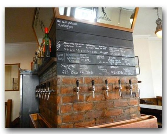 Holborn Whippet: Inside, great selection of beers
