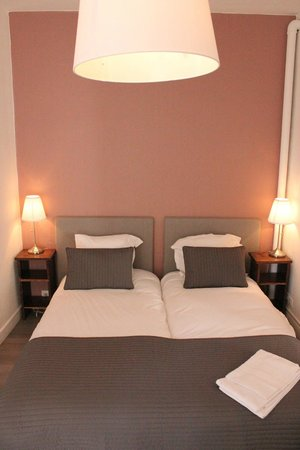 Hôtel Saint-Michel : Chambre Twin - Twin Bedroom