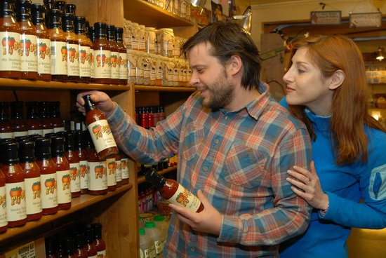 Fly Creek Cider Mill & Orchard: Mill Store Marketplace is stocked with Fly Creek Cider Mill Specialty Foods