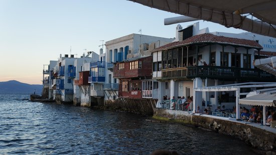 Klein-Venedig: Vista desde los bares de Little Venice