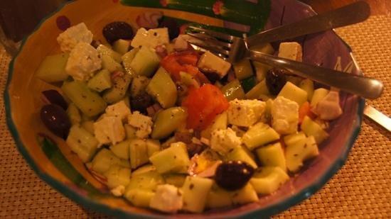 Olivia : shepard salad