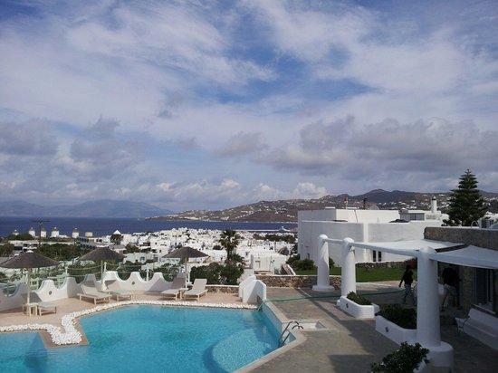Ilio Maris Hotel : Vista de la piscina