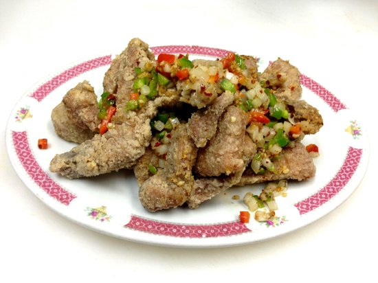 Noodle House Chinese Restaurant : SPICY SLAT DEEP FRIED PORK CHOP