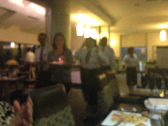 Sheraton Miami Airport Hotel & Executive Meeting Center: Surpresa