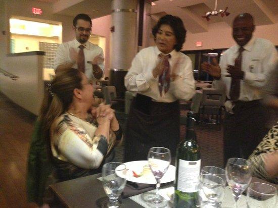 Sheraton Miami Airport Hotel & Executive Meeting Center: Meu Niver