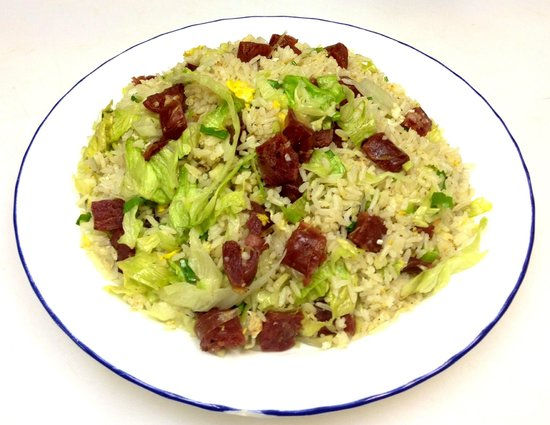 Noodle House Chinese Restaurant : CHINESE SAUSAGE FRIED RICE