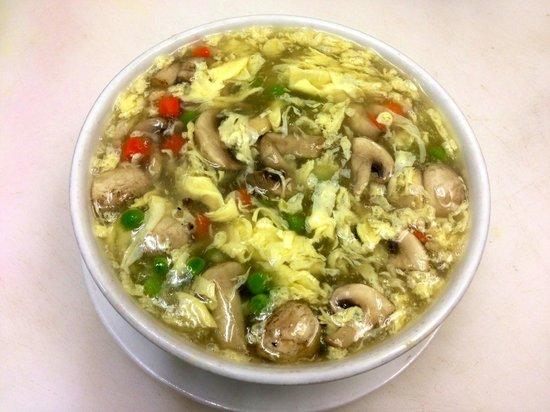 Noodle House Chinese Restaurant : HOUSE MUSHROOM & EGG SOUP