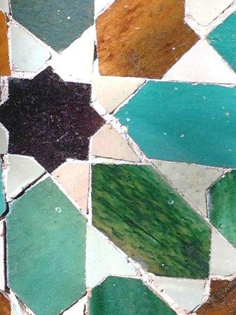 Hotel Don Paula: azulejos mozarabes