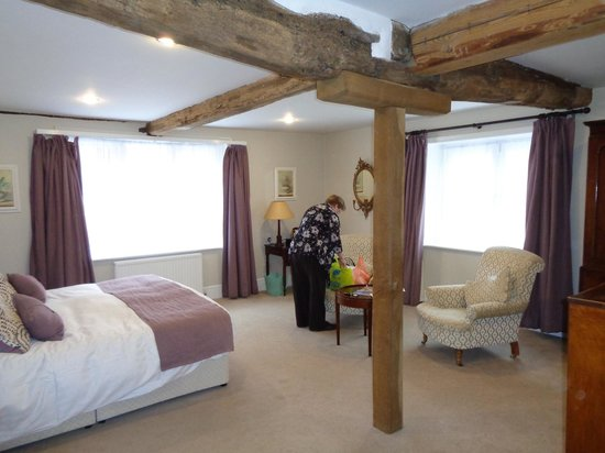 Hintlesham Hall: Our superior room
