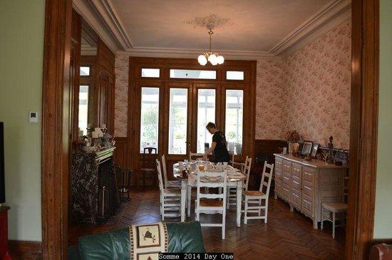 Chambre d'Hotes Cap et Marais d'Opale: breakfast
