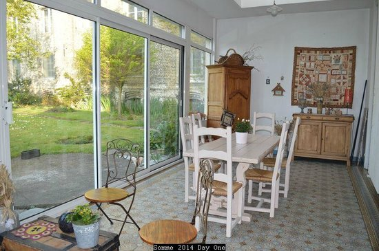 Chambre d'Hotes Cap et Marais d'Opale : conservatory