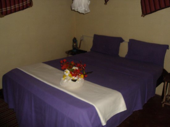 Twisted Palms Lodge & Restaurant: double room