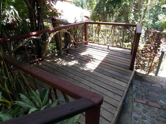 Lotus Chi Garden : The Deck
