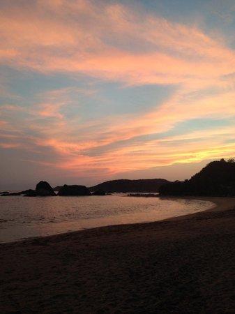 Un Sueno, Cabanas Del Pacifico: Beautiful sunset