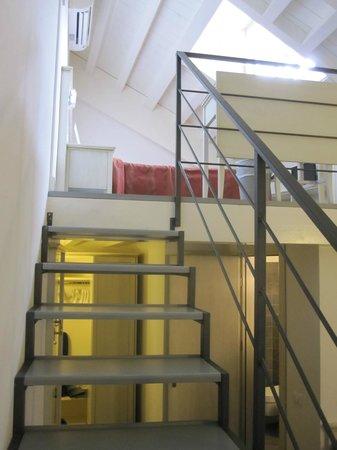 Hotel Margherita : Junior suite: Loft sleeping area