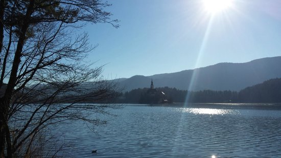 Savica Hotel: Bled lake