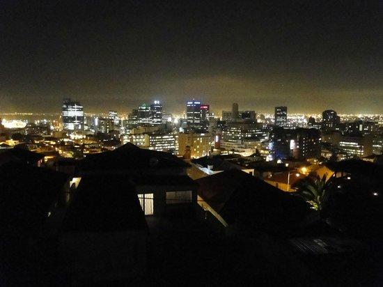 Upperbloem: Night view from room balcony