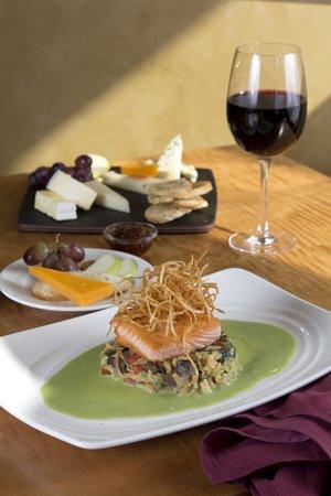The Golden Lamb Restaurant: Seared Salmon, Watercress Butter