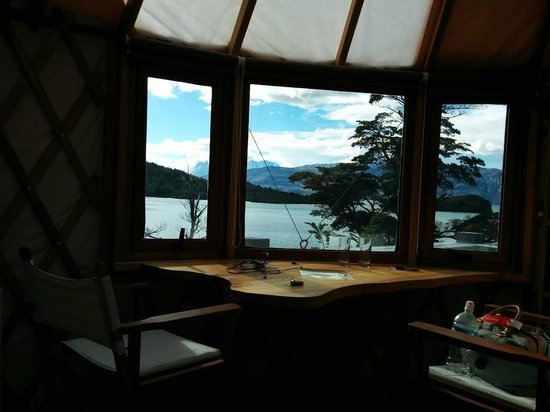 Patagonia Camp : Yurt with a view