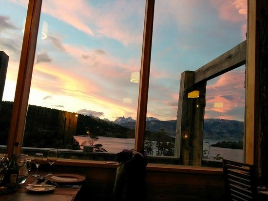 Patagonia Camp : View from the dining area
