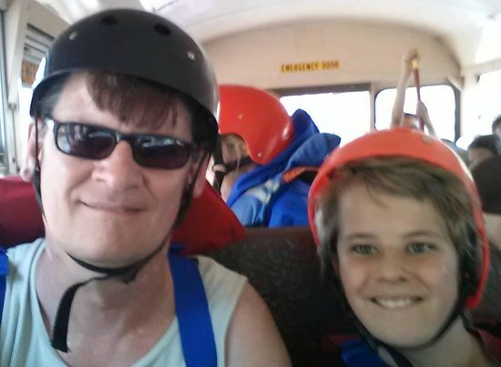 Sheltowee Trace Adventure Resort - Day Tours: Offroading in a school bus!