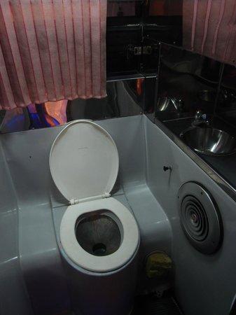 Lomprayah High Speed Catamaran: Bus toilet