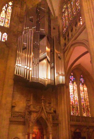 Cathedral of St Peter's : Orgel.