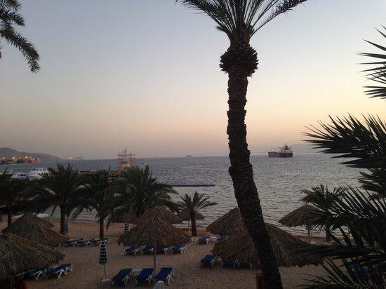 Movenpick Resort & Residences Aqaba: den private stranden