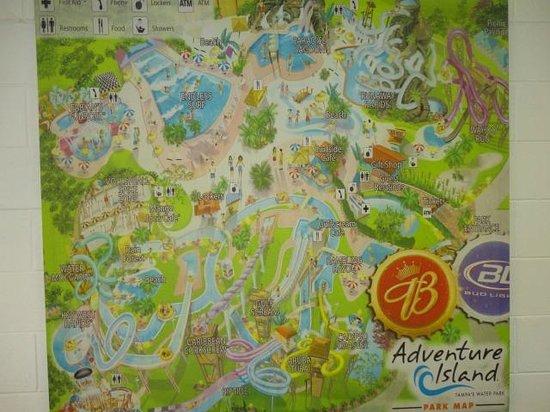 Adventure Island: Desde el Interior del Parque...