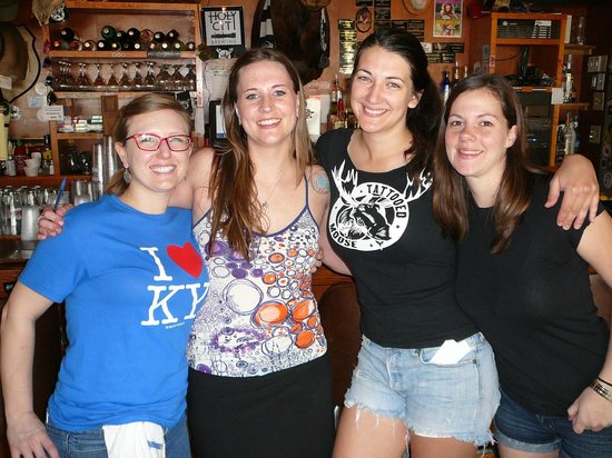 Wonderful Gals at the Tattooed Moose- thanks for the memories!